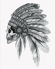Indien Crâne                                                                                                                                                                                 Plus