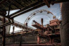 Kokerei Zollverein, Essen: Hier trifft schon im Bild Industrie- auf...