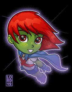 Young Justice- Ms. Martian by lordmesa on deviantART