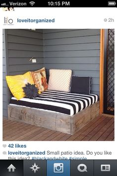 Not so much the pattern, but the overall idea (to hide cellar doors)