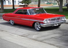 """In 1964, Ford produced 2,450 """"R"""" Code 427/425hp Galaxies. This rare Galaxie 500 XL 427/425hp comes with the original solid lifter engine and dual 4-barrel ca..."""
