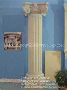 Natural Stone Roman Pillars For Sale $10~$100