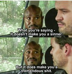 Possibly the best thing Father Gabriel has ever said