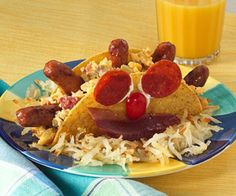 Old El Paso® Prize-Winning Recipe: Start the day with a smiling Stand 'N Stuff taco breakfast and you'll have a sunny day, too!