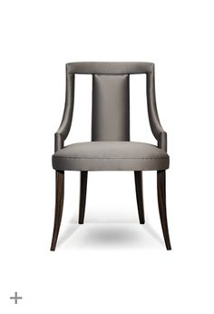 Cozy dining chair by @BRABBU, contemporary home furniture, classic contemporary furniture, modern classic sofa | Know more at http://www.brabbu.com/en/upholstery/eanda-dining-chair.php