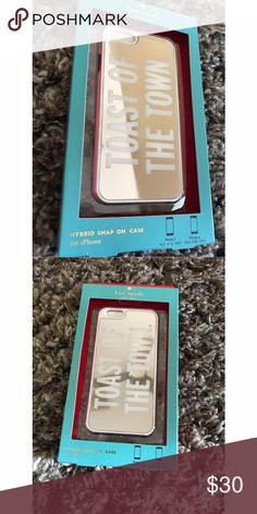 New in box kate spade iPhone 6/6S case Talk of the town mirror iPhone 6/6S case by kate spade 100% authentic. Offers welcome ❤ kate spade Accessories Phone Cases