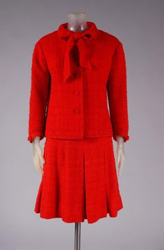 Suit Coco Chanel, 1960s The Philadelphia Museum of Art, Three piece wool suit