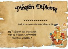 Draaiboek Piratenfeestje - Ik ga trakteren, Traktatie, Traktaties… Pirate Theme, Too Cool For School, Childrens Party, Best Part Of Me, Birthday Party Themes, Party Time, Lettering, Snail Mail, Scouting
