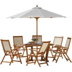 Buy Albury 6 Seater Patio Set at Argos.co.uk - Your Online Shop for Garden table and chair sets.