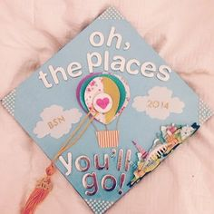 While this one spoke for all graduates.   31 Graduation Caps That Absolutely Nailed It