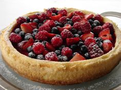 Love this cheesecake! @ http://www.beemychef.com/2012/11/cheesecake-con-frutos-rojos.html