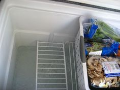 How to Use a Cooler for Food - If you don't have a refrigerator, you can store a lot of fresh produce in a cooler with these tips on how to set up the cooler so all the food isn't in the melt water.