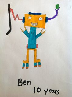drawing by Ben, age 10
