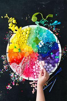 Candy Rainbow Platters 3 Ways | Oh Happy Day! | Bloglovin'