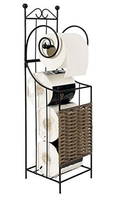 Freestanding Rustic Bathroom Toilet Paper Holder -- You can get more details by clicking on the image.