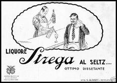 LIQUORE STREGA ALBERTI BENEVENTO SELZ BARISTA CAPPADONIA 1924