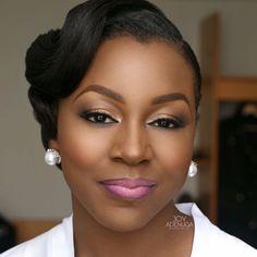 Absolutely stunning makeup by Joy Adenuga