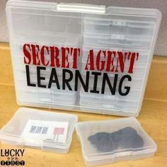 Secret Agent Learning! Engage your students with these fun decoder activities for Math & Language Arts!