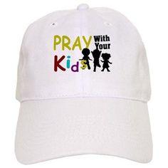 fecfaf5cb4d Pray With Your Kids-Bc Baseball Baseball Cap http   www.cafepress