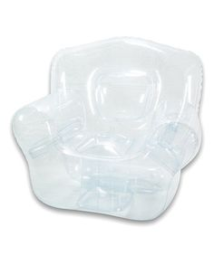 Love this Crystal Clear Inflatable Bubble Chair by Bubble Inflatables on #zulily! #zulilyfinds