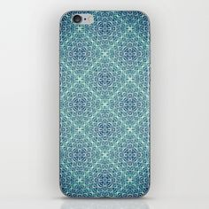 Blue Tiles iPhone & iPod Skin