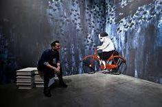 """Exhibition view """"Carll Cneut - In my head"""", Sint-Pietersabdij, Gent (Belgium)"""