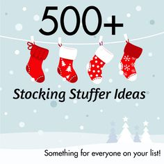 400+ Stocking Stuffer Ideas for Adults! - Unique Gifter