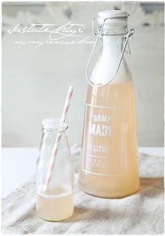 ... rhubarb juice ...