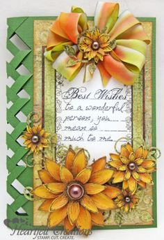 Heartfelt Creations | Braided Sunflower