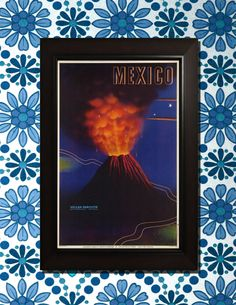 Mexico Travel Poster  3 sizes available one by VintageUnitedStates