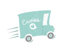 Delivery Truck Icon by Soledad Martinez via dribbble