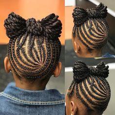 Braids for Kids – 50 Splendid Braid Styles for Girls Little Girl Braids, Black Girl Braids, Braids For Kids, Girls Braids, Natural Hairstyles For Kids, Kids Braided Hairstyles, Natural Hair Styles, Baby Girl Hairstyles, Black Girls Hairstyles