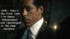 Captain Frank Irving- Sleepy Hollow quote. *Season.2 begins September 22, 2014* Love it!