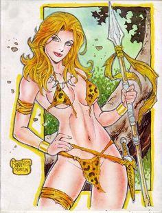 JUNGLE GIRL by RODEL MARTIN (02222015) by rodelsm21 on DeviantArt