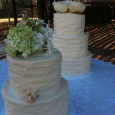 Good friends wedding cakes I made