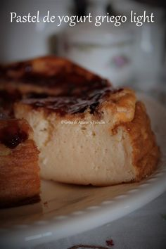 Sweet Recipes, Keto Recipes, Cake Recipes, Healthy Recipes, Yummy Recipes, Healthy Dessert Options, Healthy Snacks, Greek Yogurt Cake, Good Food