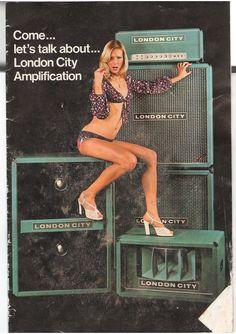 Valve Amplifier, Guitar Rig, Bass Amps, Cool Gear, Gibson Les Paul, Vintage Guitars, Cool Tones, London City, Playing Guitar