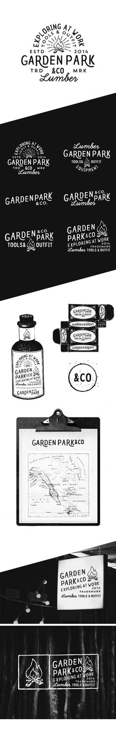 Garden Park Co on Behance