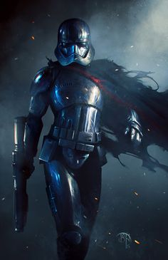 ArtStation - captain phasma, by Benny KusnotoMore about star wars here.