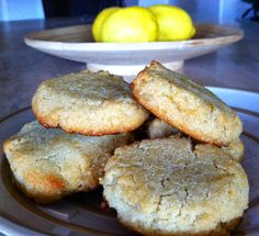 Lemon Honey Cookies & A Raw Honey Giveaway! #glutenfree #healthy