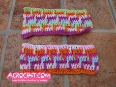 Blog Acrochet Puntada en colores y relieve Gisella Kamiche