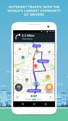 Waze - GPS, Maps & Traffic- screenshot