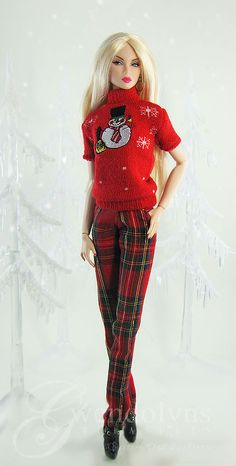 Red Snowman pants | by Gwendolyns Treasures