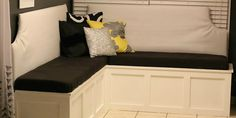 See how to build a custom corner banquette bench from scratch to add seating, style, and storage to your dining room.