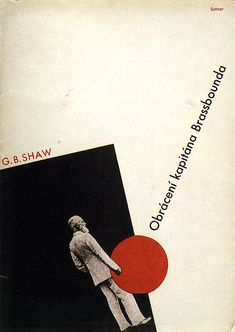 Book cover for Georg Bernard Shaw by Ladislav Sutnar 1932