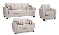 neutral sofa - Google 検索 Neutral Sofa, Sofa Set, Love Seat, Couch, Living Room, Chair, Canada, Colour, Furniture