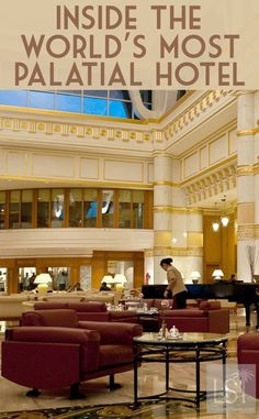 The Empire Hotel & Country Club, near Brunei's capital city of Bandar Seri Begawan has to be seen to be believed. It is perhaps the most palatial hotel in the world and one of the most flamboyant in Asia. It's also home to fine antiques like a $500,000 crystal camel: http://livesharetravel.com/21664/bruneis-bandar-seri-begawan/