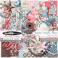 Feelin' Frosty, Too! Dig-ETTE-al Kit by Fayette Designs