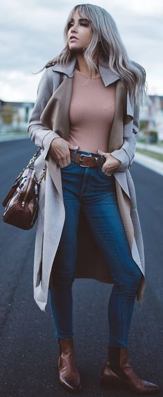 #fall #outfit #ideas | Trench + Basics