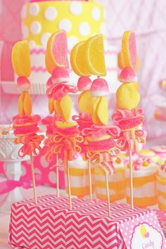 Candy sticks---so cute!